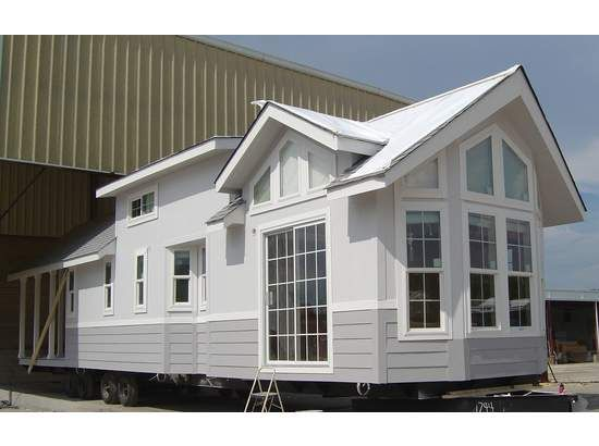 Mobile home model number