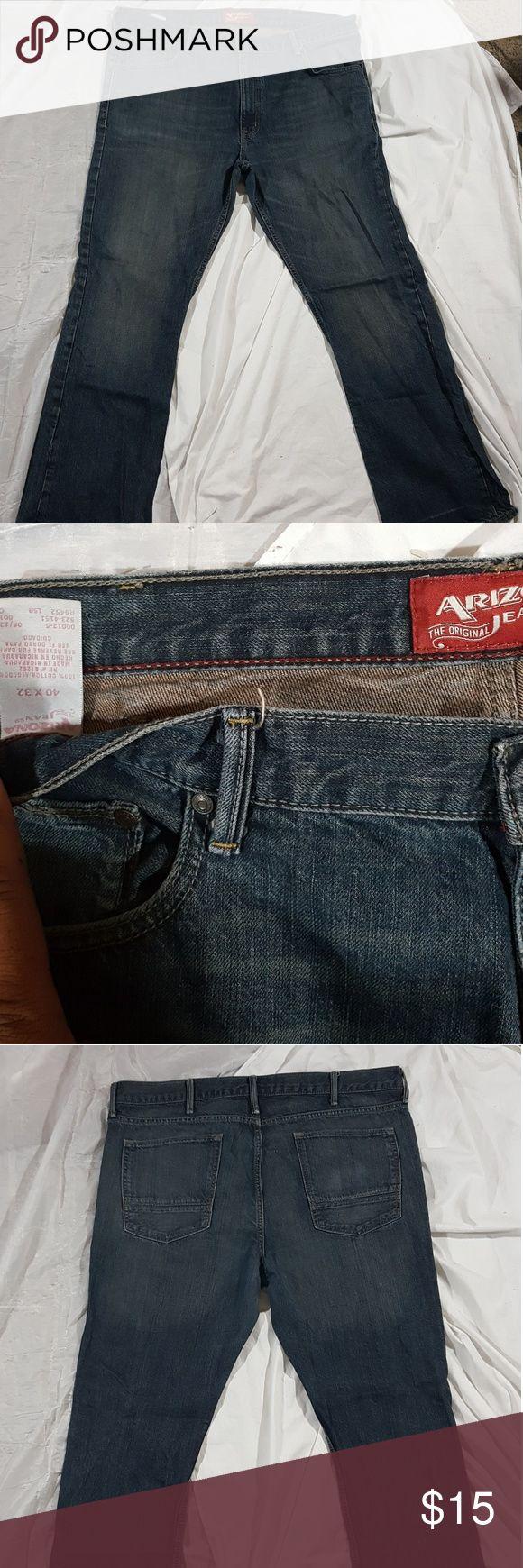 Arizona Men Bootcut Jeans SZ 40/32 Arizona Men Bootcut Jeans SZ 40/32 Arizona Jean Company Jeans Bootcut