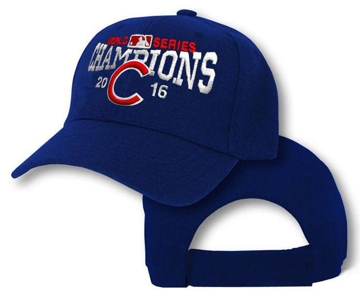 Men's / Women's Chicago Cubs New Era 2016 World Series Champions Adjustable Baseball Hat - Royal