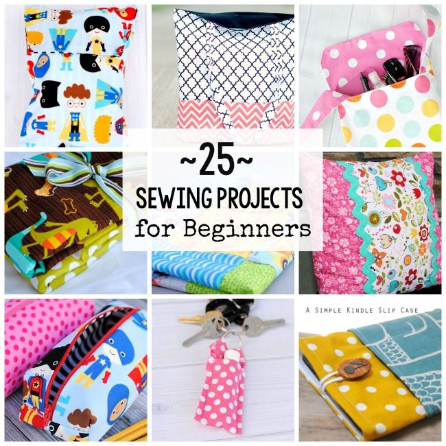 25 Sewing Projects for Beginning Sewers