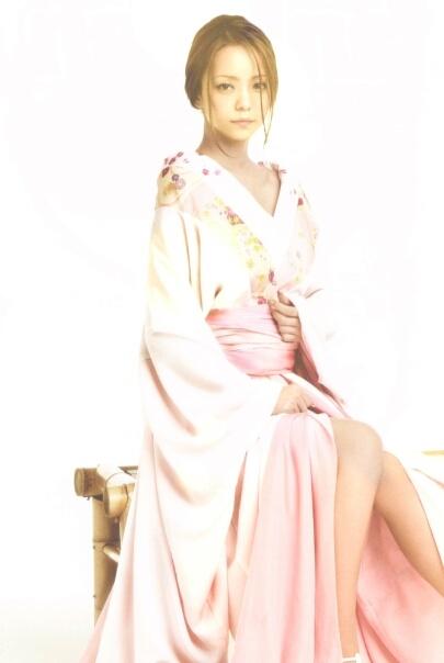 Namie Amuro in kimono