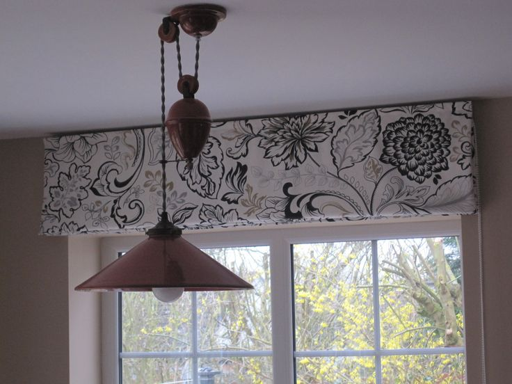Lined Roman Blind Outside Recess Fabric