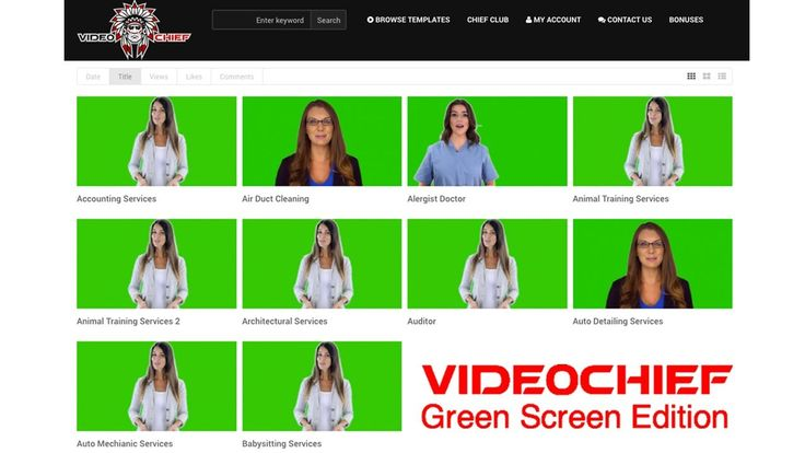 Video Chief Green Screen Review | Profit $500 - $1,000 Per Video In Just...