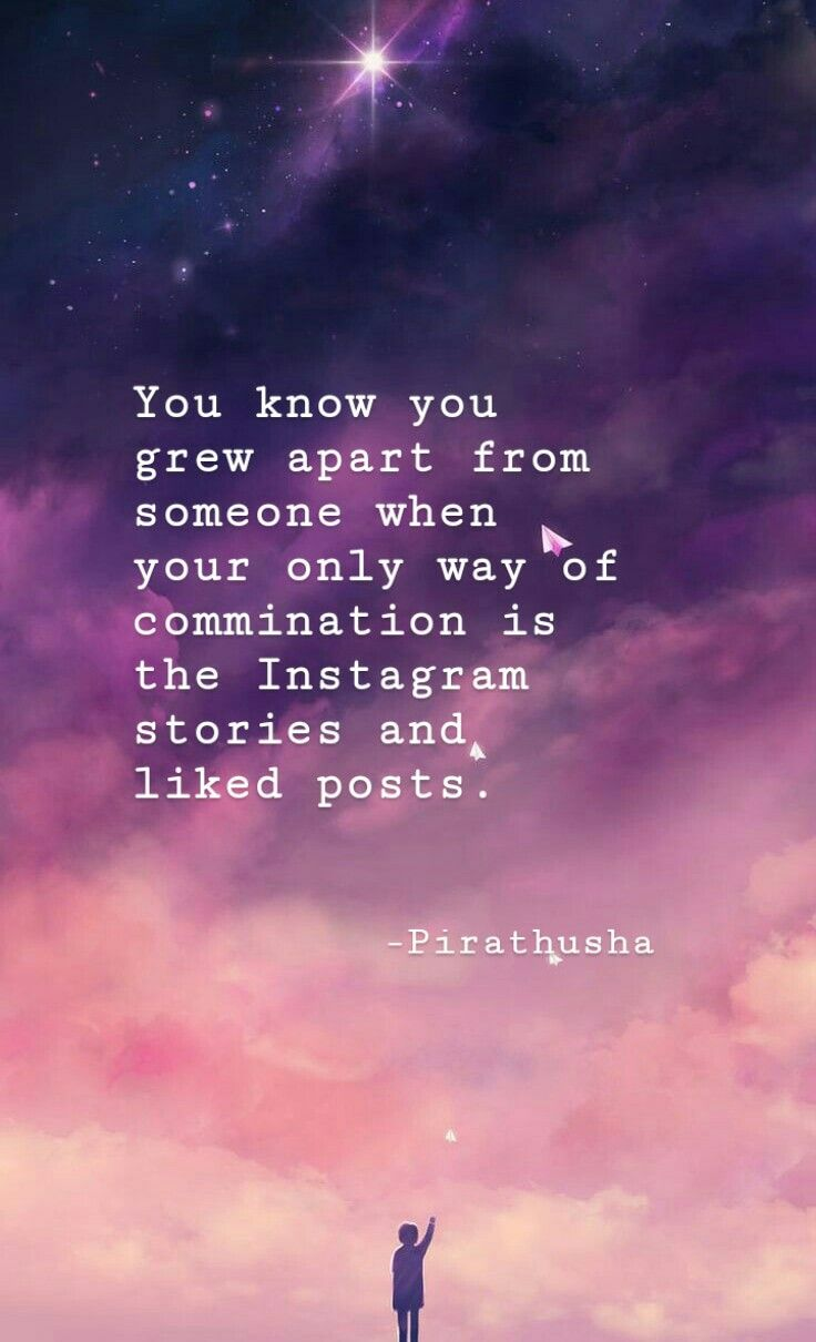 Too Far Away Friendship Quotes Instagram Story Growing Apart