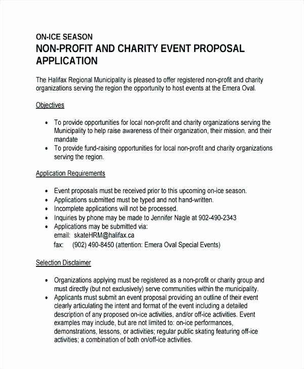 Non Profit Proposal Template Beautiful Bud Proposal For Non Profit Organization Lovely How To Event Proposal Event Planning Proposal Event Proposal Template