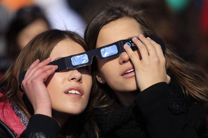 20 marca - częściowe zaćmienie słońca / 20 March - partial sun eclipse