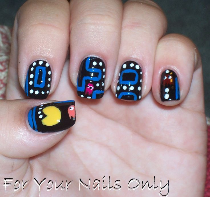 Best 25 pac man nails ideas on pinterest mens nails men nail lovely fingernails art with pacman on hands wallpaper toenail art images nail wallpaper prinsesfo Image collections