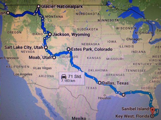 Roadtrip Von Seattle Nach Miami 11 000 Unvergessliche Kilometer Quer Durch Die Usa Miami Seattle Roadtrip