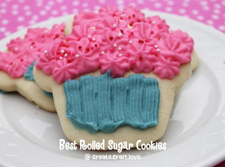 Best Rolled Sugar Cookies