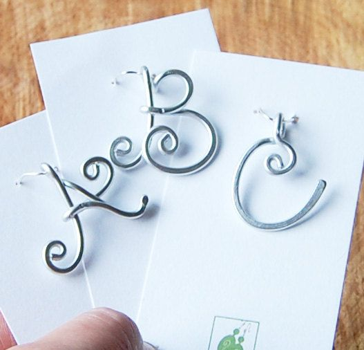 41 best WIRE LETTERS images on Pinterest Jewelry ideas Wire