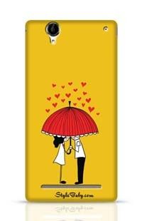 Love Couple Sony Xperia T2 Phone Case