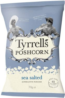 Tyrrells English Crisps — Sea Salted