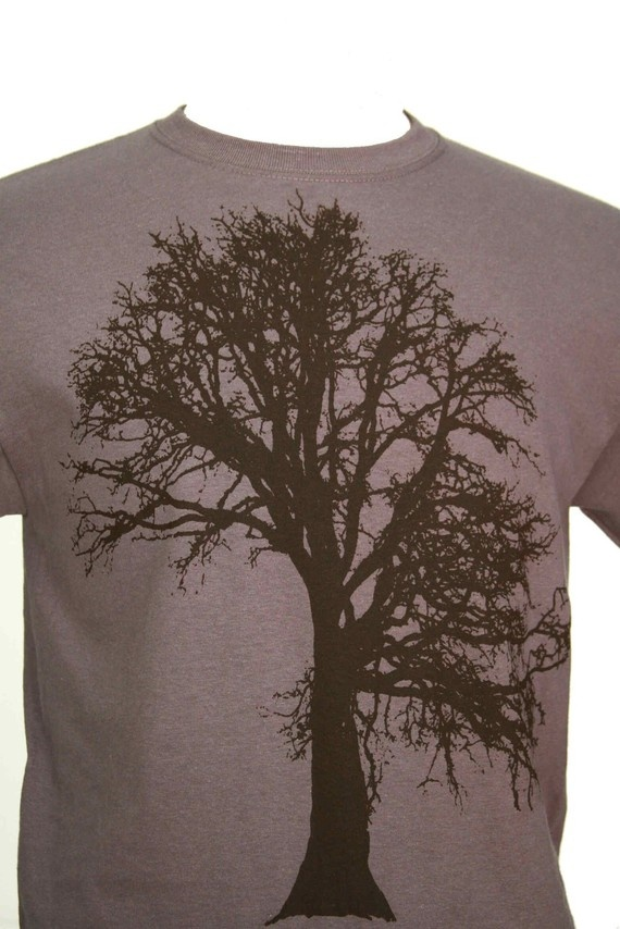For some reason I love t-shirts with trees on them.