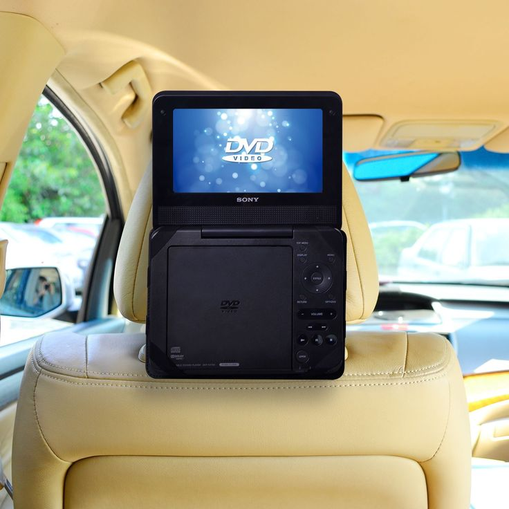 TFY Car Headrest Mount for Portable DVD Player-7 Inch (for Sony DVP-FX750, Sony DVP-FX780 and more). Car Headrest Mount for 7 inch Portable DVD Players (Please Note: Portable DVD Player NOT included). COMPATIBLE MODELS - fits Sony DVP-FX750 Portable DVD Player - Also fits Sony DVP-FX780 and many other 7 Inch Portable DVD Players - see Product Description below for more details (PLEASE NOTE: this mount CANNOT fit Sylvania 7 Inch Portable DVD Players. Search Amazon for ASIN B00IVHCAP2 to...