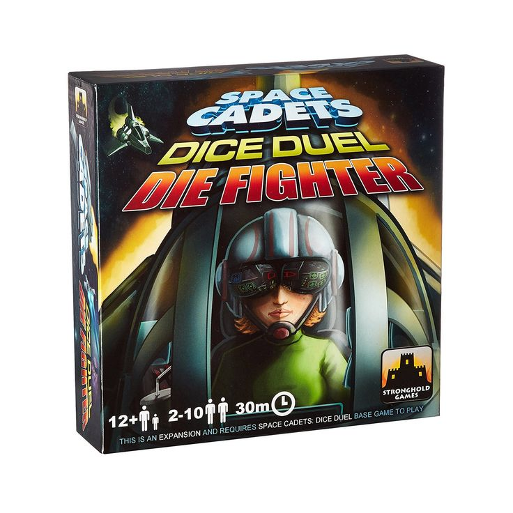 Space Cadets Dice Duel Game Die Fighter Expansion Pack