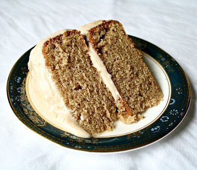 Spice Layer Cake with Cream Cheese Frosting