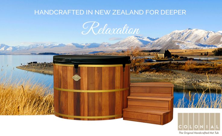 Handcrafted Hot Tubs In Auckland by Colonial Hot Tubs. #hottubs #Auckland