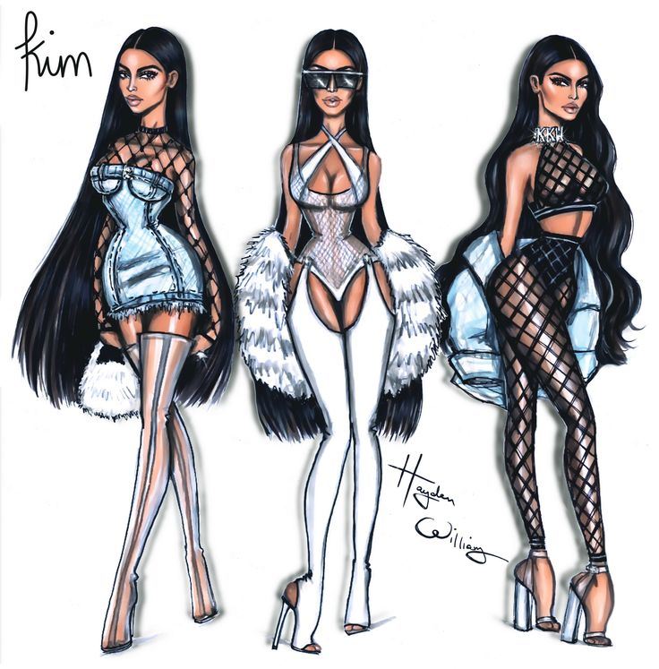 #KimKardashianWest x3 by Hayden Williams
