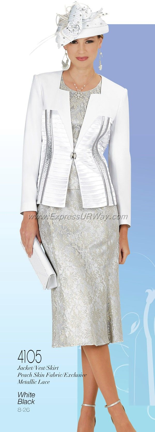 Womens Church Suits by Champagne for Spring 2014 - www.ExpressURWay.com…