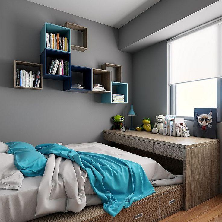 Cool 74 Amazing Bedroom Wall Shelves Hacks https://modernhousemagz.com/74-amazing-bedroom-wall-shelves-hacks/