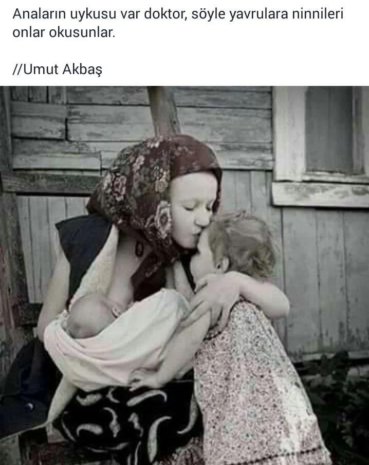 Anaların uykusu var doktor, söyle yavrulara ninnileri onlar okusunlar.   - Umut Akbaş  #sözler #anlamlısözler #güzelsözler #manalısözler #özlüsözler #alıntı #alıntılar #alıntıdır #alıntısözler #şiir