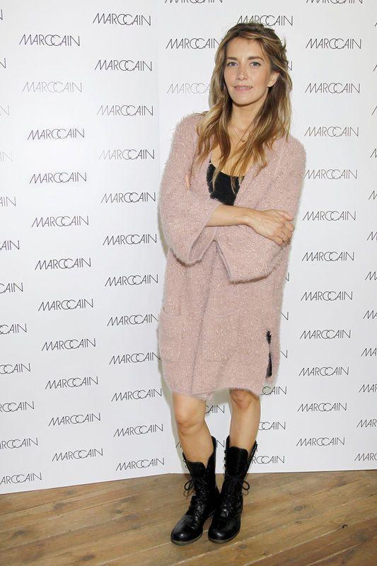 Kamilla Baar na konferencji marki MARC CAIN, fot. Akpa