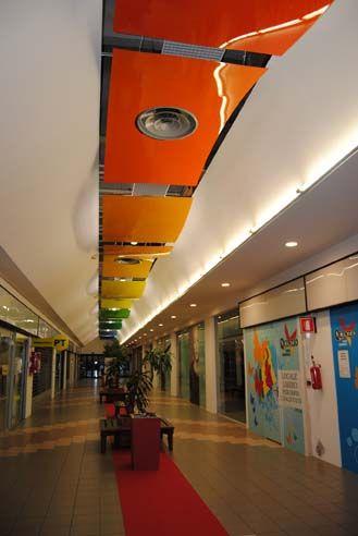 rendering ristrutturazione centro commerciale Quinzio - Reggio Emilia