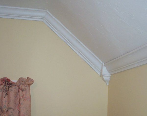 crown molding with sloped ceiling | Your feedback is ...
