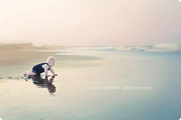 my sweet baby. #lensbaby #beach #photography  #seeinanewway