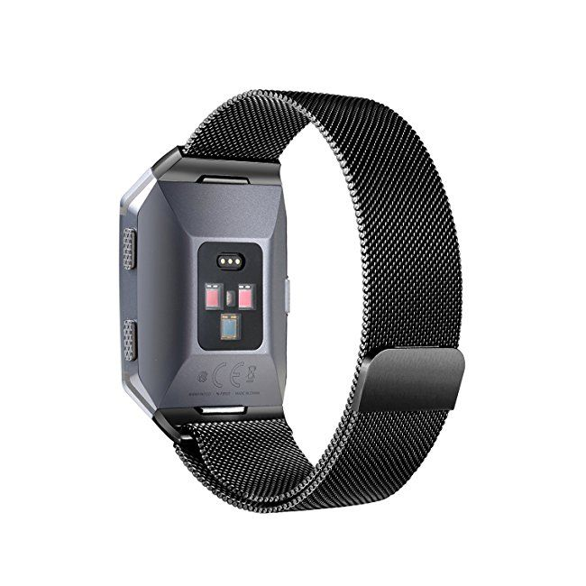 #womens #watches bayite for Fitbit Ionic Watch Strap Replacement Milanese Replacement Straps for Fitbit Ionic Silver Small Large