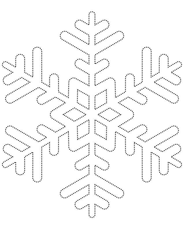 Best  Snowflake Template Ideas On   Paper Snowflake