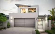 minimalist double storey house - Google Search