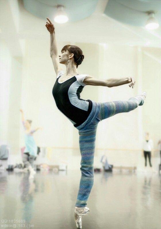Polina Semionova rehearsal...