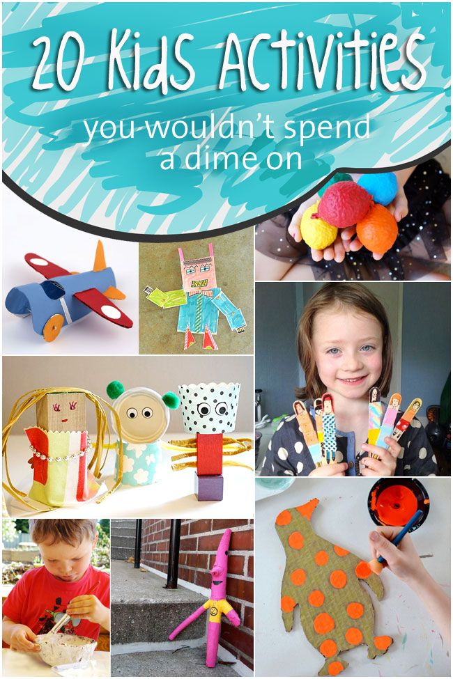 frugal activities for kids by Kids Activities Blog