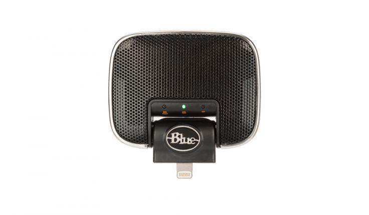 Mikrofon stereo iOS iPhone IPad Blue Mikey Digital V2 Lightning | Studio i homerecording \ Mikrofony studyjne | Sprzet-Dyskotekowy.pl - największy i najtańszy sklep internetowy z oświetleniem i nagłośnieniem w Polsce