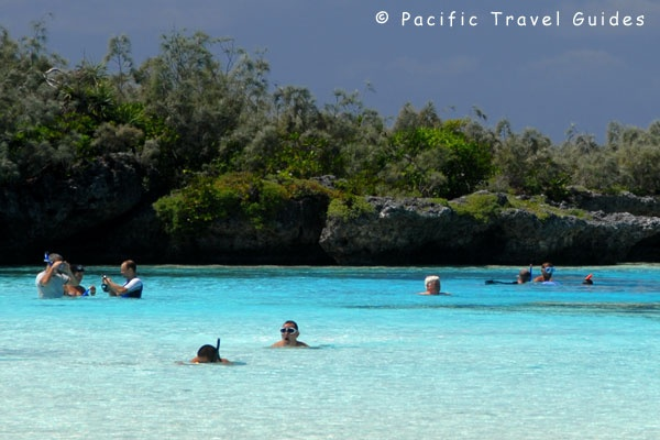 Isle of Pines Picture Natural Swimming Pool, Oro Bay