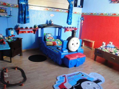 Thomas The Tank Bedroom Decor 14 Best Tikes Bed Images On Pinterest 3 4  Beds Batman And Cottages. Thomas The Tank Bedroom Furniture   Home Design