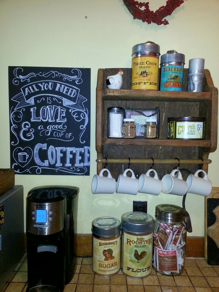 711 best repurposed old things new life images on for Things in a coffee bar