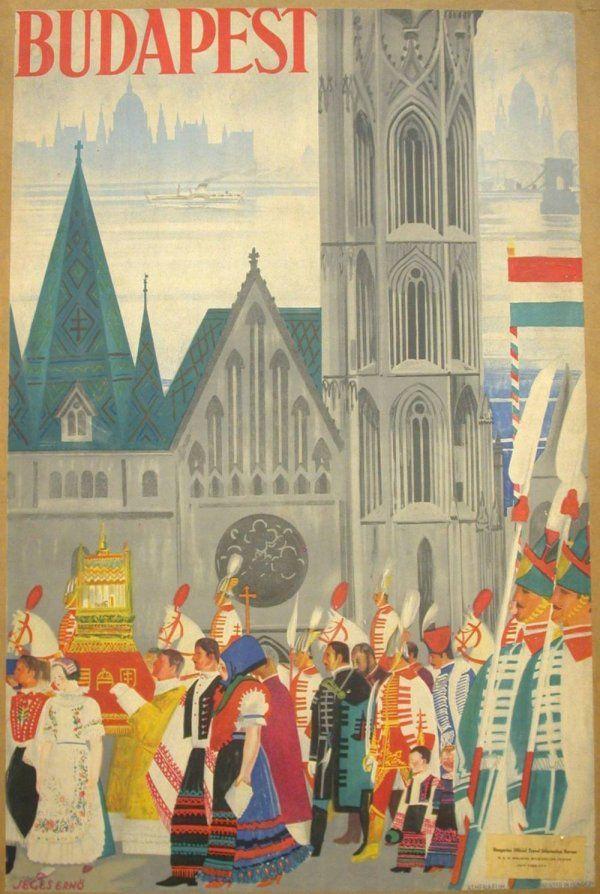 Budapest Hungarian Tourism Poster