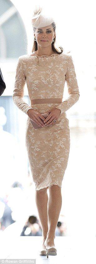 Lovely: The Duchess of Cambridge