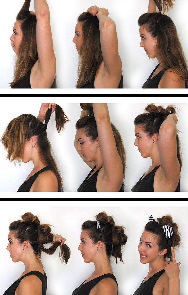 "HALLOWEEN // zebra costume ""mane"" hair tutorial"