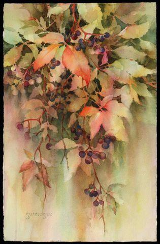 Brenda Swenson Leaves & Berries #2