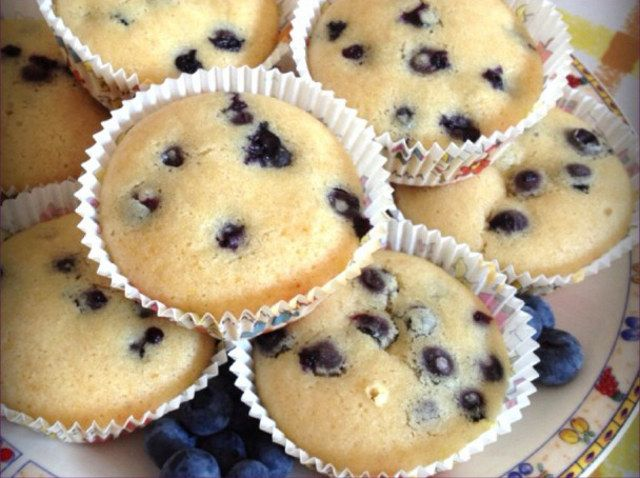Muffins ai mirtilli | #vegan