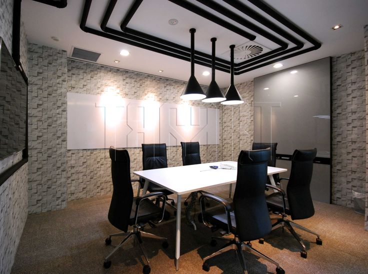 Pipe meeting room fit for 6 pax design by traart interior design