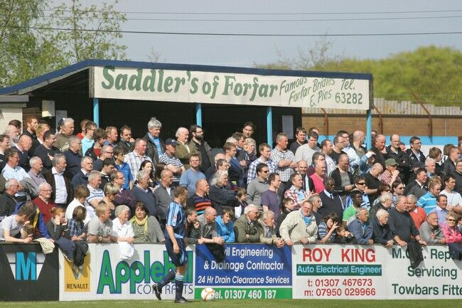 Station Park: Home of Forfar Athletic FC.