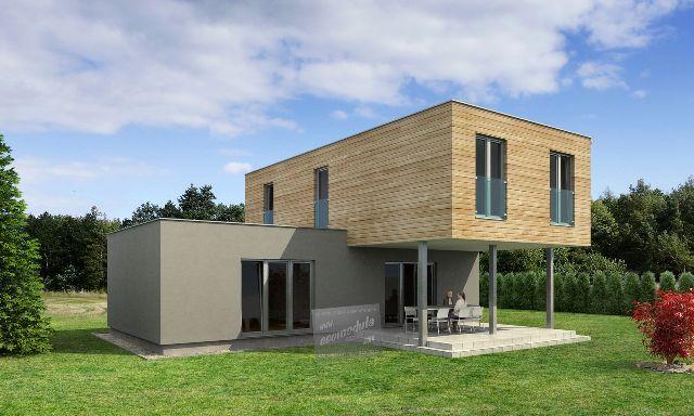 Pokud máte rádi futuristický styl a desing, tak právě pro vás je připraven tento krásný dům Goopan M 139, který nabízí jedinečný tvar a zpracování, které se má nádech budoucnosti:) Dům nabízí dipozici 4+kk a 117 m2 podlahové plochy :) I tento dům můžete mít za měsíční splátku, která je nižší než to co stojí nájemné ve stejně velkém bytě panelového domu :) Jak na to se dozvíte na www.goopan.cz