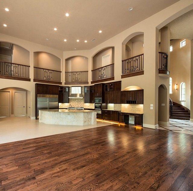 Open Concept Kitchen Dining Room Floor Plans Open Concept: 241 Best Mediterranean House Plans Images On Pinterest