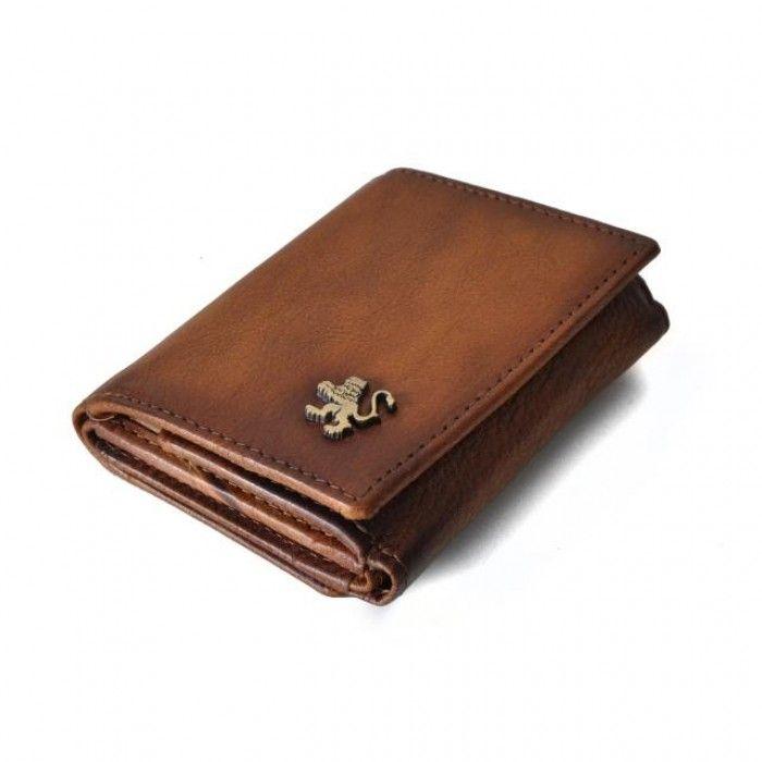 Pratesi Palazzo Davanzati  men leather wallet handmade in Italy