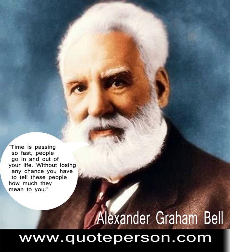 Best 10 Alexander Graham Bell Quotes Ideas On Pinterest
