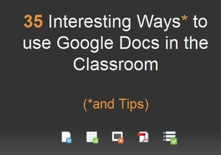 Google docs If you don't use Google Docs in your classroom yet, you're crazy. Amazing the collaboration it creates with peers and teacher and how much students truly grow visually seeing you work with them on their writing.